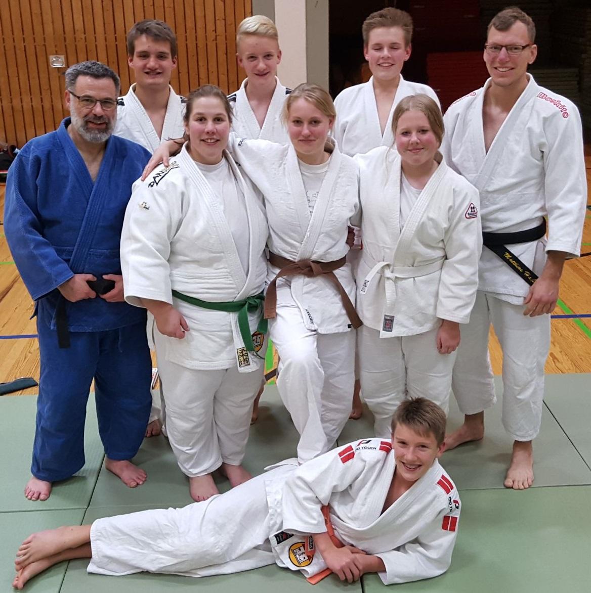 Judo-Teens & Erwachsene (2017)
